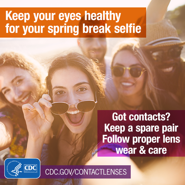 Keep Your Eyes Healthy for Your Spring Break Selfie