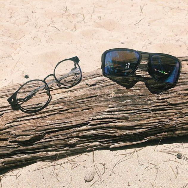 Oakley eyeglasses and Oakley sunglasses