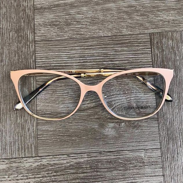 Pink Tiffany and Co. Eyeglasses