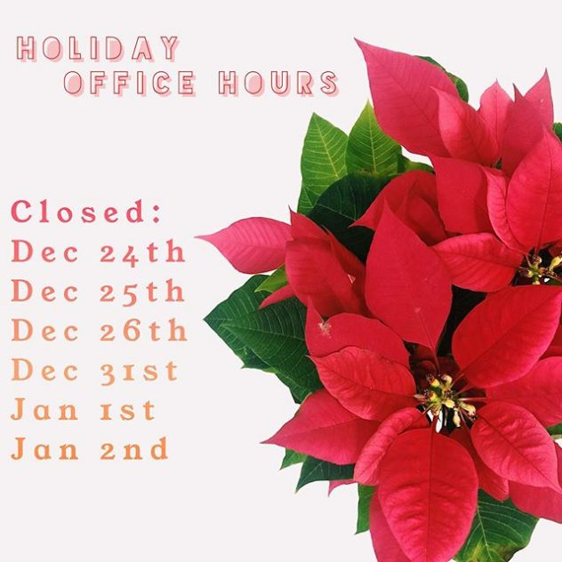 Office closed hours